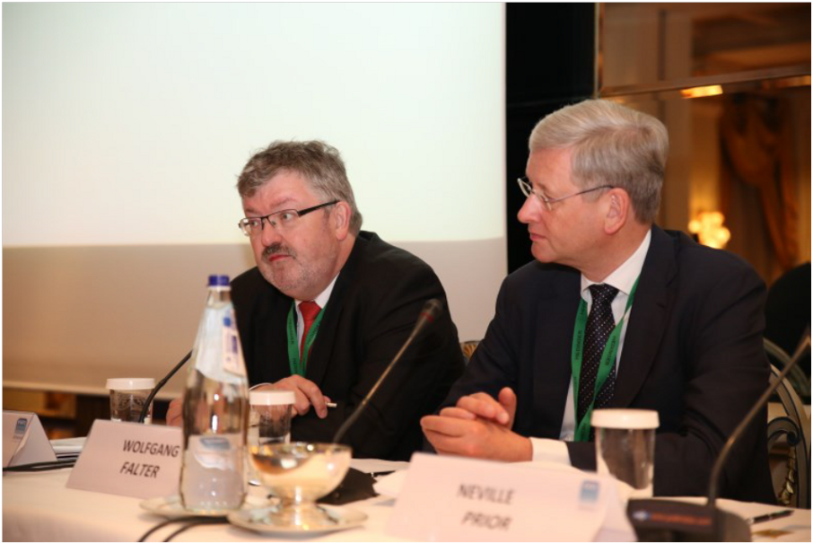 Fecc Congress 2015 - Günther Eberhard has been the co-moderator for this congress together with Dr. Wolfgang Falter.